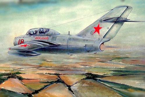 Советский истребитель МиГ-15 УТИ - Trumpeter 02805 1:48