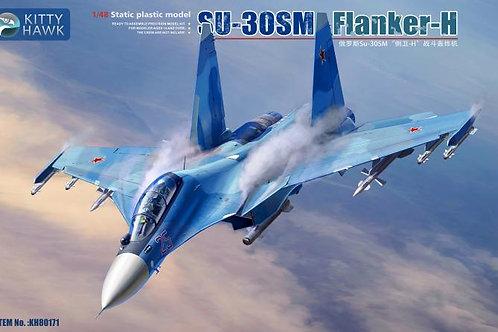 Российский самолет Су-30СМ Flanker-H - Kitty Hawk 1:48 KH80171