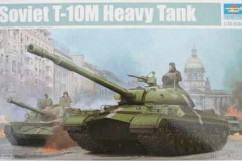 Советский танк Т-10М - Trumpeter 05546 1:35