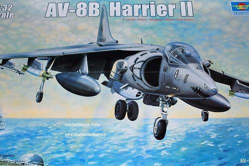 Самолет AV-8B Harrier II - Trumpeter 1:32 02229