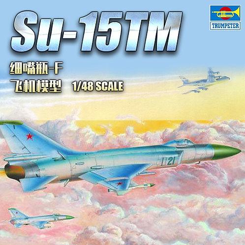 Самолет Су-15 ТМ, Sukhoi Su-15TM Flagon-F - Trumpeter 1:48 02811
