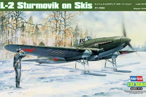 Штурмовик Ил-2 на лыжах - Hobby Boss 83202 1/32