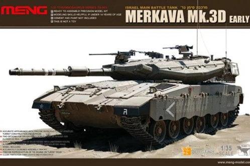 Израильский танк Merkava Mk.3D ранняя версия - Meng Model TS-001 1:35
