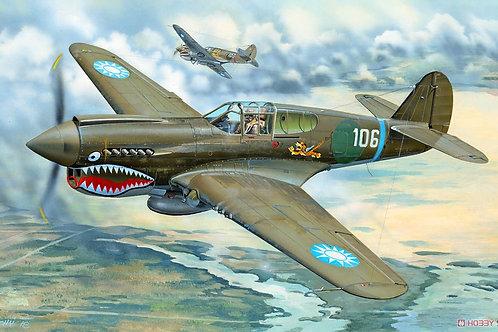Американский самолет Кёртисс Curtiss P-40E - Trumpeter 02269 1:32