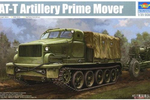 (под заказ) Артиллерийский тягач АТ-Т - Trumpeter 09501 1/35