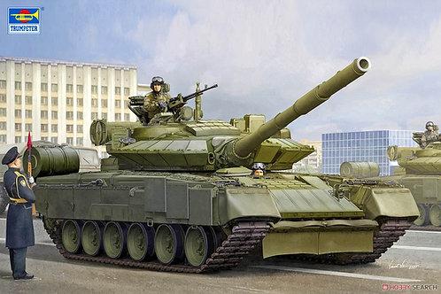 """(п/заказ) Trumpeter 1:35 09588 Российский танк Т-80БВМ """"арктическая"""" версия"""