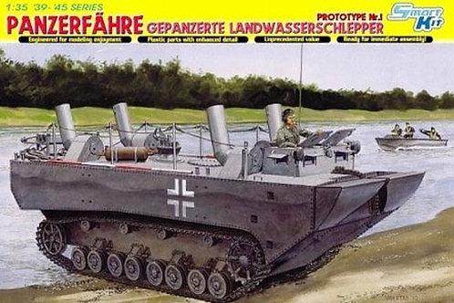 Prototype #1 Panzerfahre IV Gepanzerter Landwasserschlepper - Dragon 1:35 6625