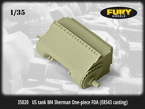 Fury Models 1:35 35020 Глассис Шермана / US tank M4 Sherman One-piece FDA
