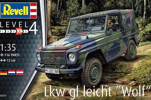 Автомобиль LKW gl. leicht Wolf - Revell 1:35 03277