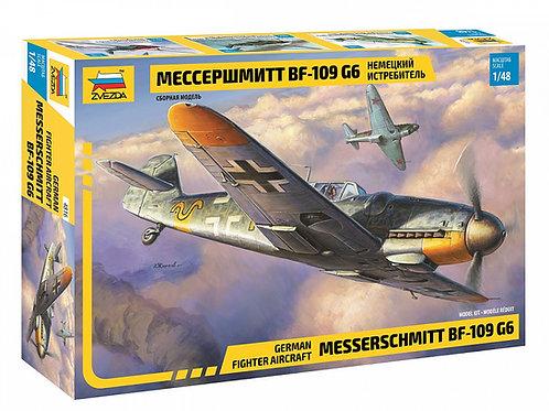 4816 Звезда 1/48 Немецкий истребитель Мессершмитт Bf-109 G6