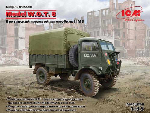 Британский тягач W.O.T.8 - ICM 35590 1/35