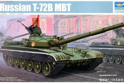 Советский танк Т-72Б - Trumpeter 05598 1:35