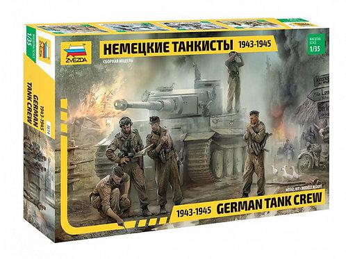 3614 Звезда 1:35 Немецкие танкисты 1943-1945 годов