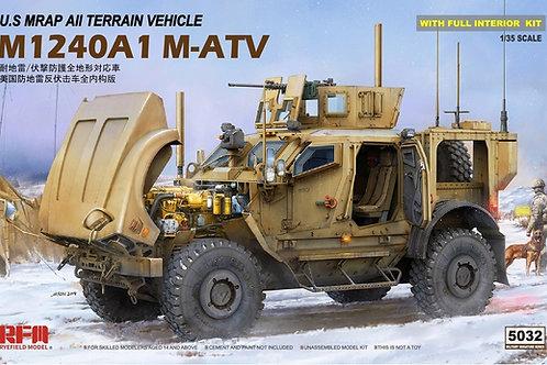 (под заказ) Американский МРАП с интерьером M-ATV - RFM 1:35 RM-5032