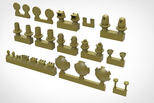 Miniarm 1/35 B35205 Т-34/76 Корректирующий набор деталей для башни - 35205