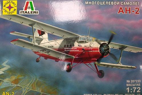 Самолет Ан-2 - Моделист 207233 1/72