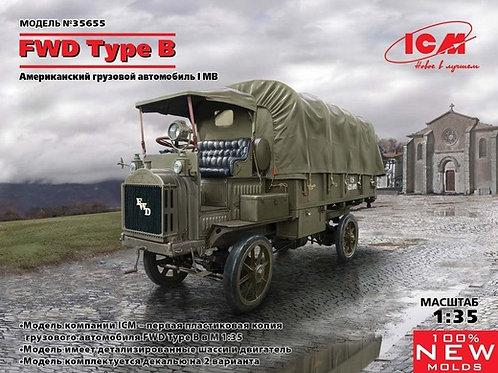 ICM 35655 FWD Type B, Грузовик армии США Первой мировой войны, 1:35