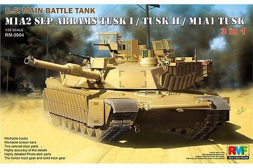 M1A2 SEP Abrams TUSK I / TUSK II / M1A1 TUSK - RFM RM-5004 1:35