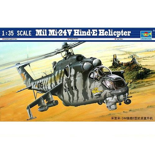 Советский вертолет Ми-24В - Trumpeter 1:35 05103