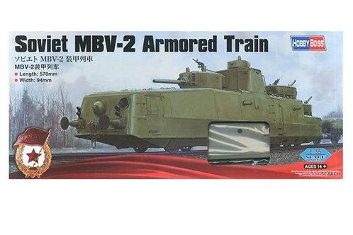 Советский броневагон с пушкой Ф-34 - Hobby Boss 85514 1:35