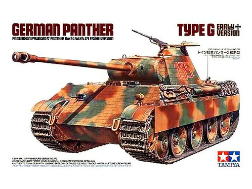 35170 Tamiya Немецкий танк Пантера Panther Ausf. G Early ранний выпуск - 1:35