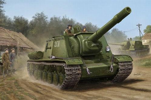 Советская самоходка СУ-152 поздний выпуск, SU-152 Late - Trumpeter 1:35 05568