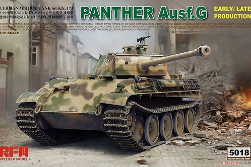 Panther Ausf.G Early/Late - Rye Field Model RFM RM-5018 1/35