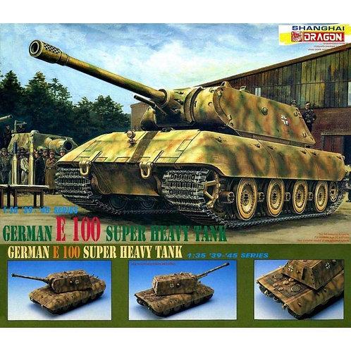 Немецкий танк German Tank E-100 Super Heavy Tank - Dragon 1:35 6011