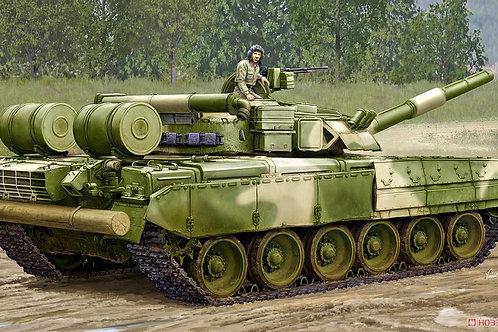 (анонс) Танк Т-80УД раннего выпуска, T-80UD MBT Early - Trumpeter 1:35 09581