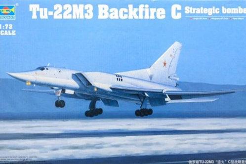 (под заказ) Бомбардировщик Туполев-22М3 - Trumpeter 01656 1/72