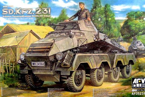 Sd.Kfz.231 8-Rad, ранняя версия - AFV Club AF35231 1:35
