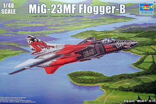 Советский истребитель МиГ-23МФ Flogger-B - Trumpeter 02854 1/48
