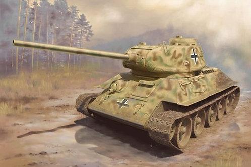Panzerkampfwagen T-34/85 - Dragon 6759 1:35 (Т-34/85 трофейный немецкий вариант)