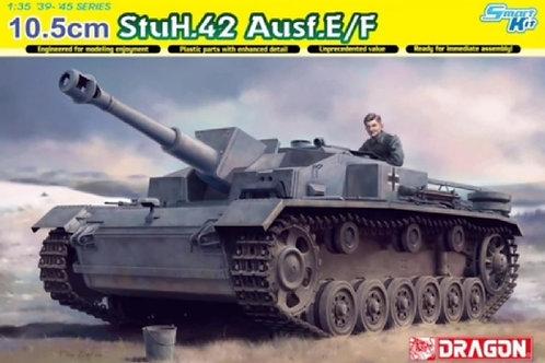Немецкая 105-мм самоходка StuH.42 Ausf.E/F - Dragon 1:35 6834