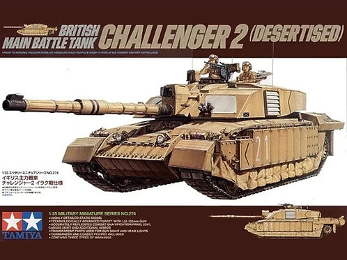 Британский танк Челленджер 2 / Challenger 2 desertised - Tamiya 1:35 35274