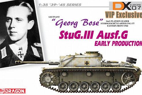 (под заказ) StuG. III Ausf. G Early, Leutnant Georg Bose - Dragon 1:35 6417
