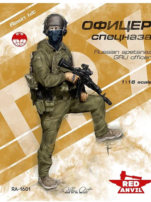 Российский офицер спецназа ГРУ фигура 120 мм, RED ANVIL RA-1601 1/16