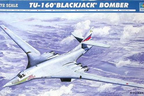 Стратегический бомбардировщик Туполев-160 - Trumpeter 01620 1/72