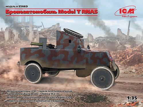 ICM 35669 1/35 Бронеавтомобиль Model T RNAS