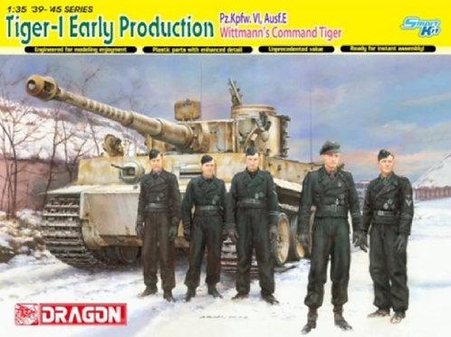 Командирский Tiger I Михаэля Виттмана, Тигр ранняя серия - Dragon 6730 1:35