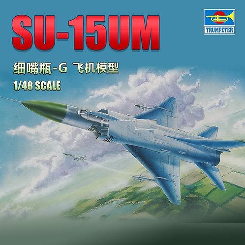 Самолет Су-15 УМ, Sukhoi Su-15UM Flagon-G - Trumpeter 1:48 02812