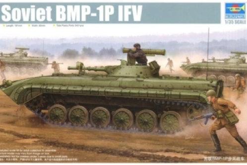 Советская боевая машина пехоты БМП-1П модифицированная - Trumpeter 05556 1:35