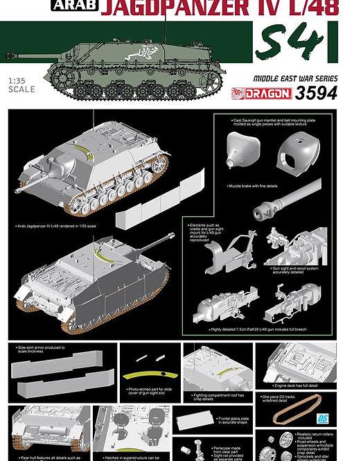 """Arab Jagdpanzer IV L/48 """"The Six Day War"""" series - Dragon 1:35 3594"""