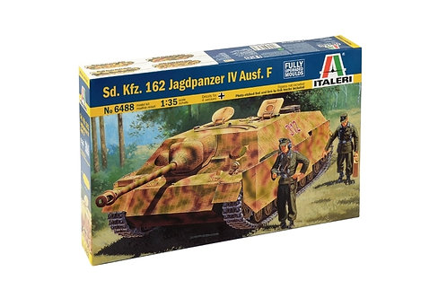 Немецкая самоходка Ягдпанцер 4, Jagdpanzer IV - Italeri6488 1:35