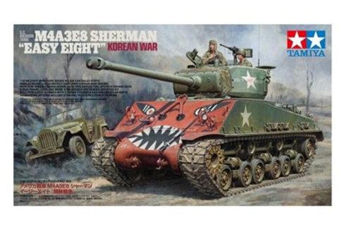 * КОМБО 2в1 * Sherman Easy Eight, война в Корее + ГАЗ-67Б - Tamiya 35359 1:35