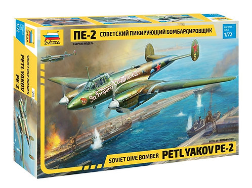 Советский бомбардировщик Пе-2 - Звезда 7283 1/72