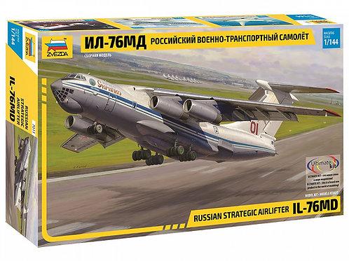 7011 Звезда 1/144 Российский военно-транспортный самолет Ил-76 МД