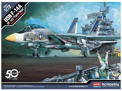 "Самолет USN F-14A VF-143 ""Pukin Dogs"" - Academy 1:72 12563"