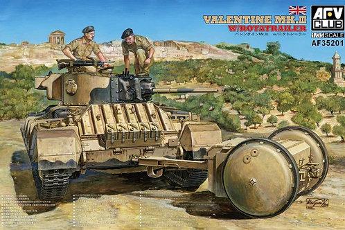 Valentine Mk.III w/Rotatrailer - AFV Club 1:35 AF35201
