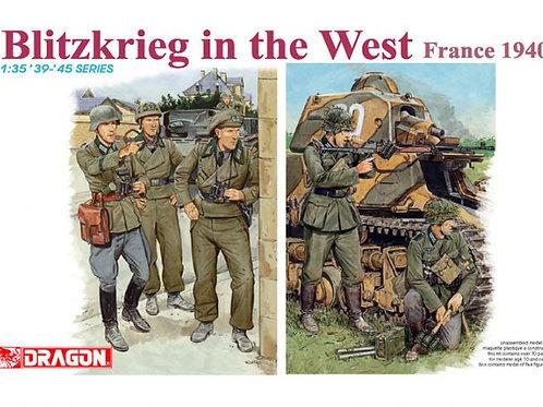 (под заказ) Blitzkrieg in the West (France 1940) - Dragon 1:35 6347